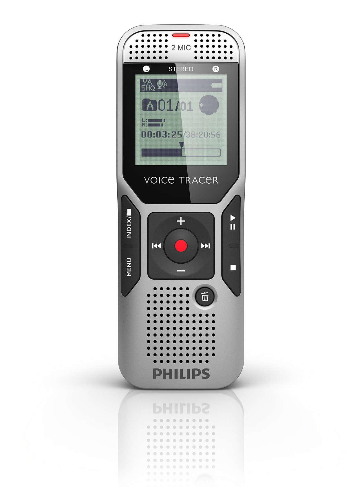 philips voice tracer dvt2700 user manual