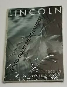 2002 lincoln ls v6 owners manual