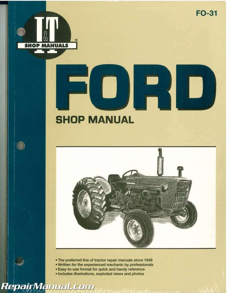 ford 3000 service manual free