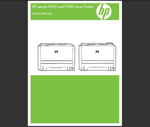 hp laserjet p2035 user manual