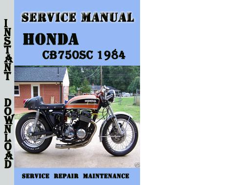1981 honda cb750 service manual pdf