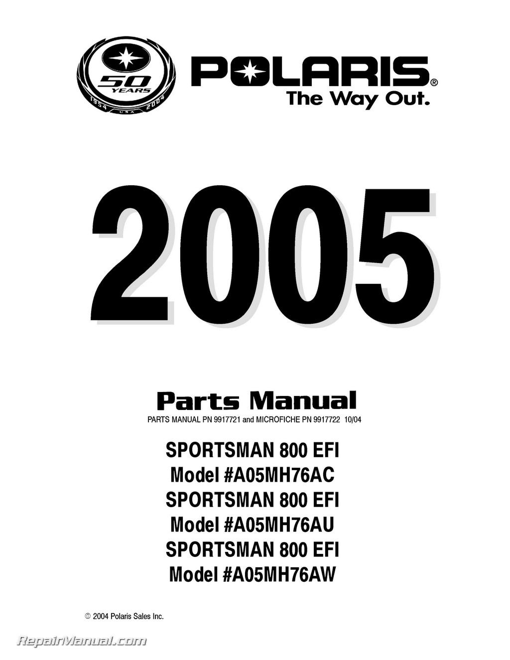 polaris sportsman 570 efi service manual