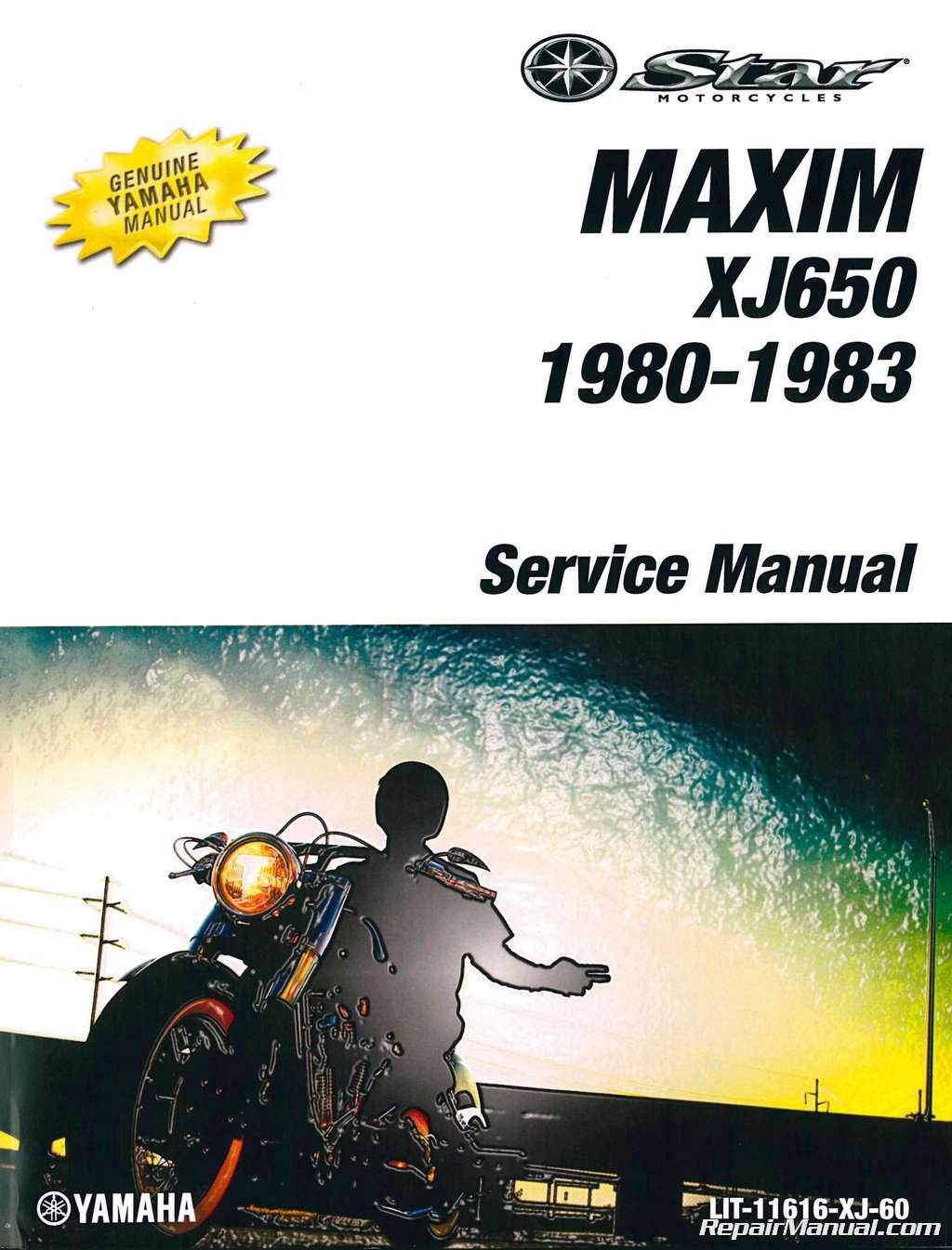 1982 yamaha maxim 650 service manual pdf