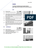 fisher paykel dishwasher service manual