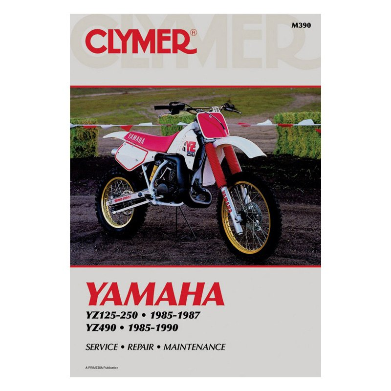 1987 yamaha yz250 owners manual