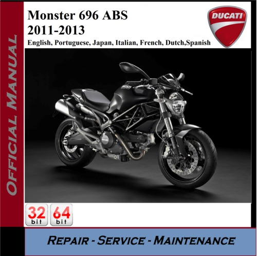 2011 ducati monster 696 service manual