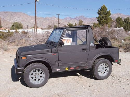 1988 suzuki samurai owners manual