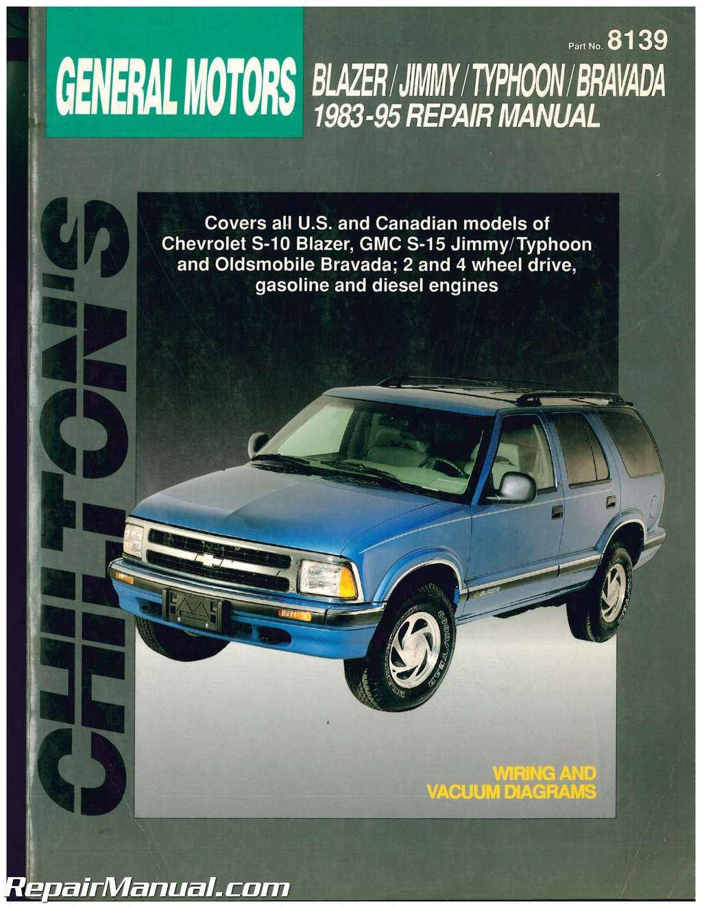 1983 s10 blazer owners manual