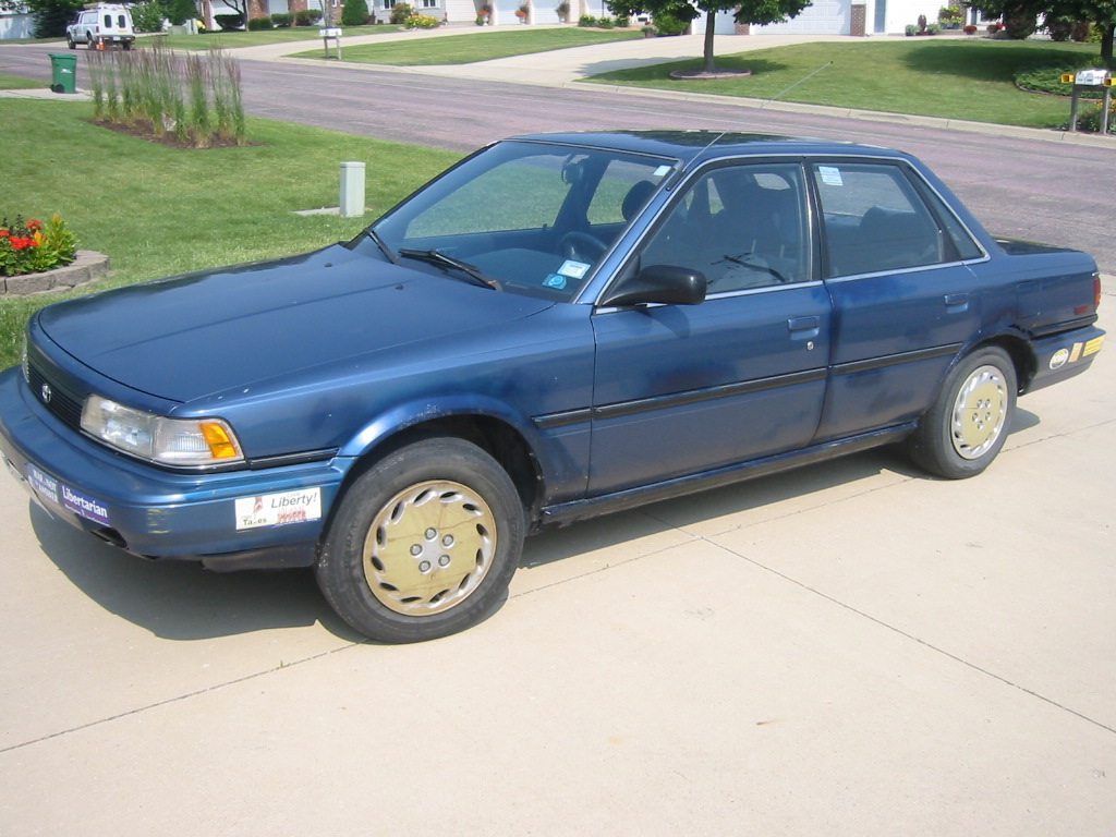 1991 toyota camry dx owners manual