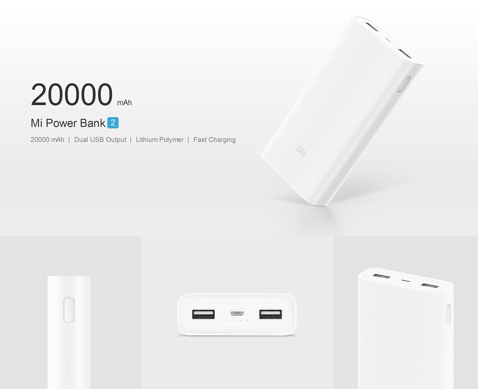 20000mah mi power bank 2c user manual