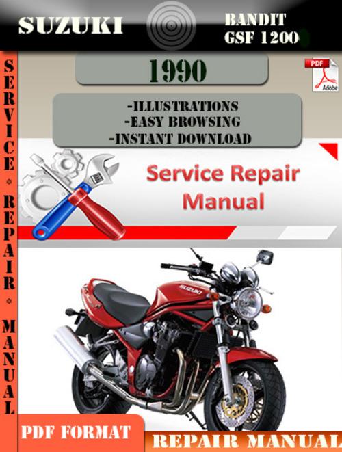 2001 suzuki bandit 1200 service manual pdf