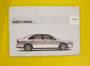 2006 volvo s80 owners manual