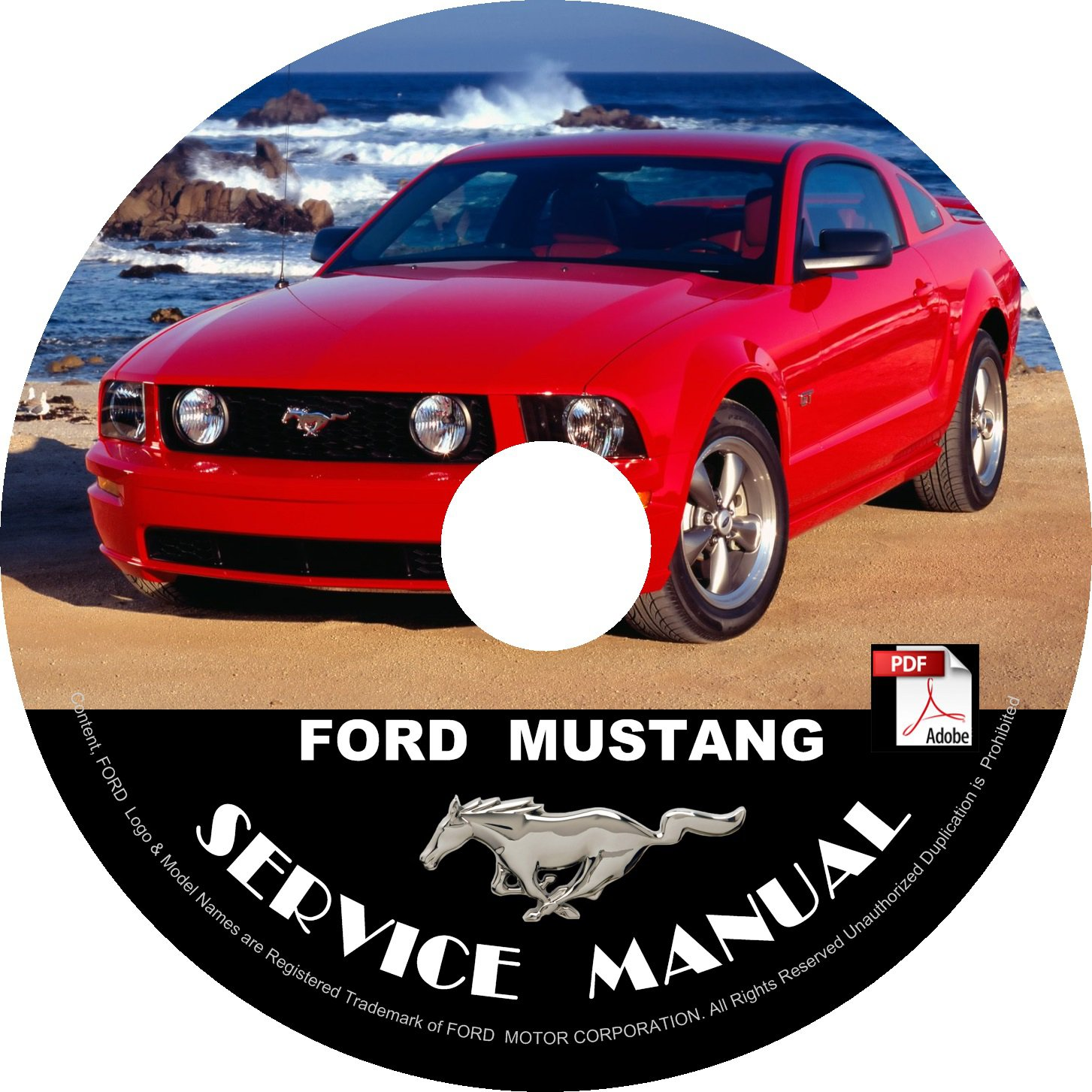 2007 ford mustang service manual