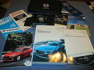 2014 mazda 3 owners manual