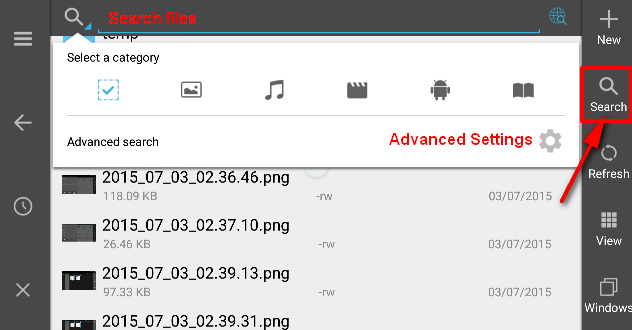es file explorer user manual