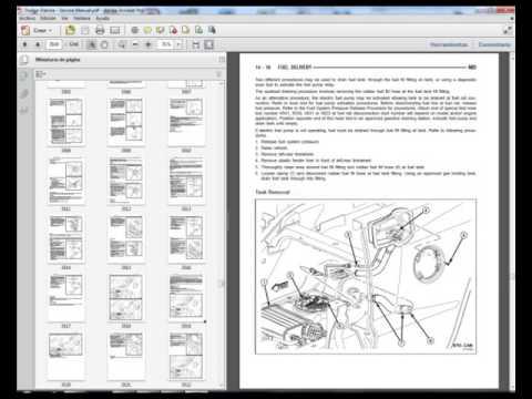 2007 dodge dakota service manual