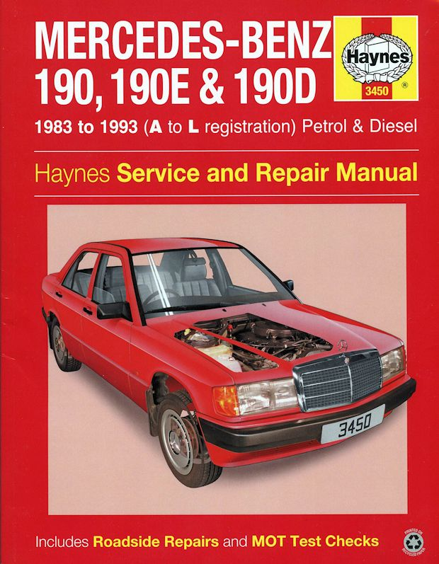 1991 mercedes 190e owners manual