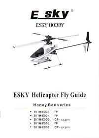 esky honey bee 2 manual