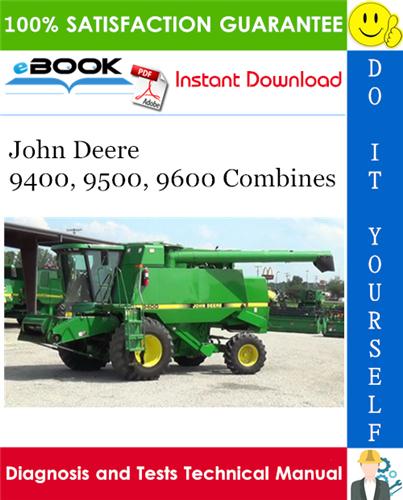 jd 9600 combine service manual