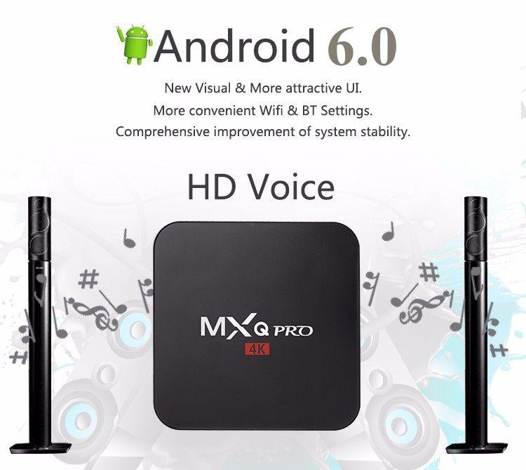 mxq pro 4k android tv box user manual