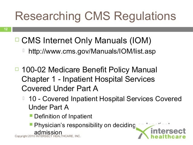 cms benefit policy manual chapter 2