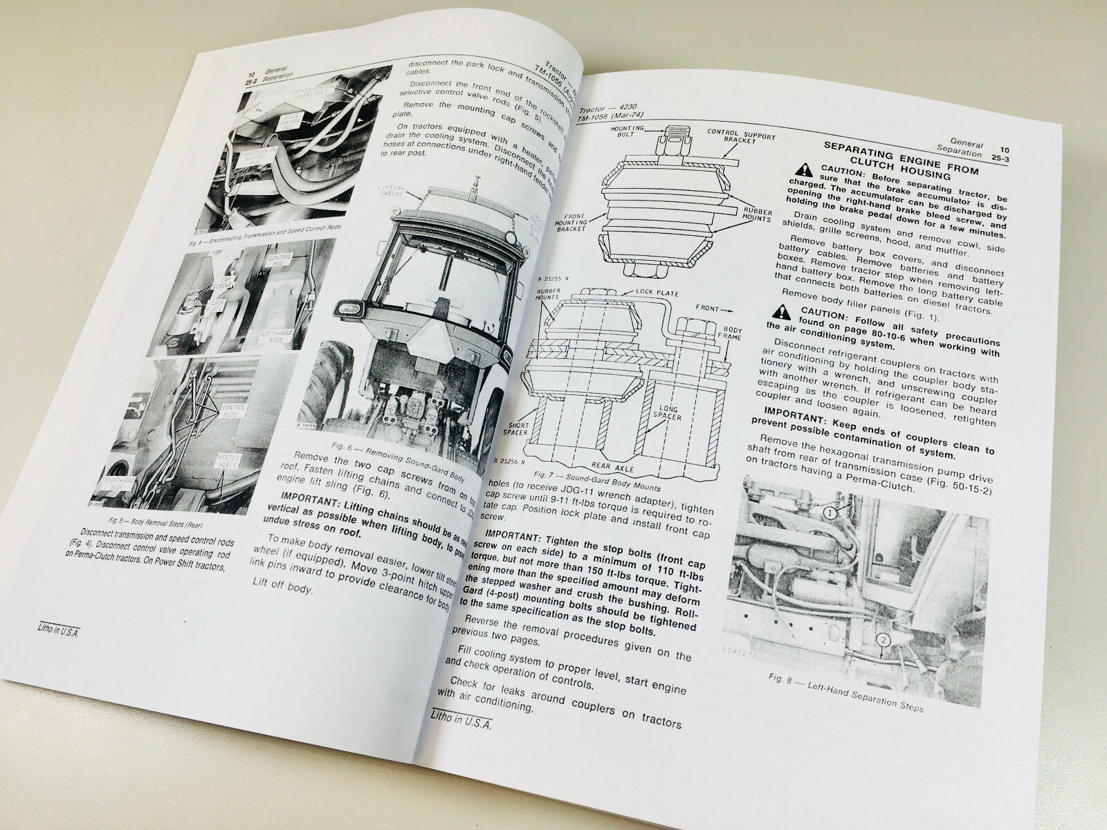 john deere 4230 service manual