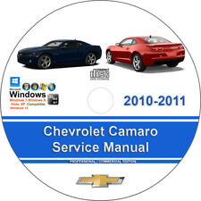 2010 camaro factory service manual