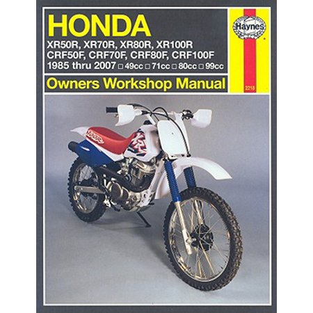 honda crf 70 owners manual