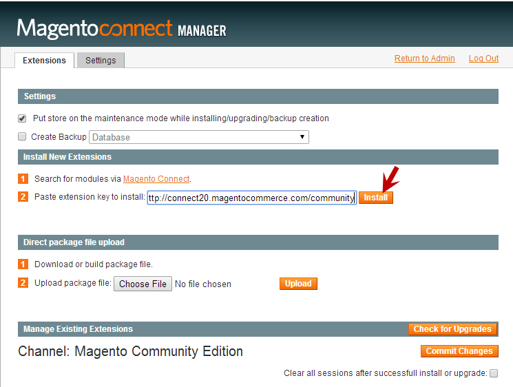how to manually install app in magento 2