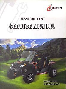 hisun 800 utv service manual