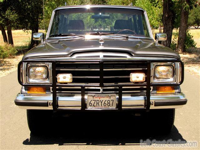 1989 jeep grand wagoneer owners manual