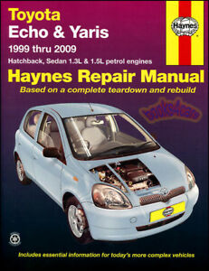 2002 toyota echo owners manual