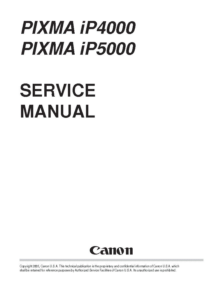 canon pixma ip4000 user manual