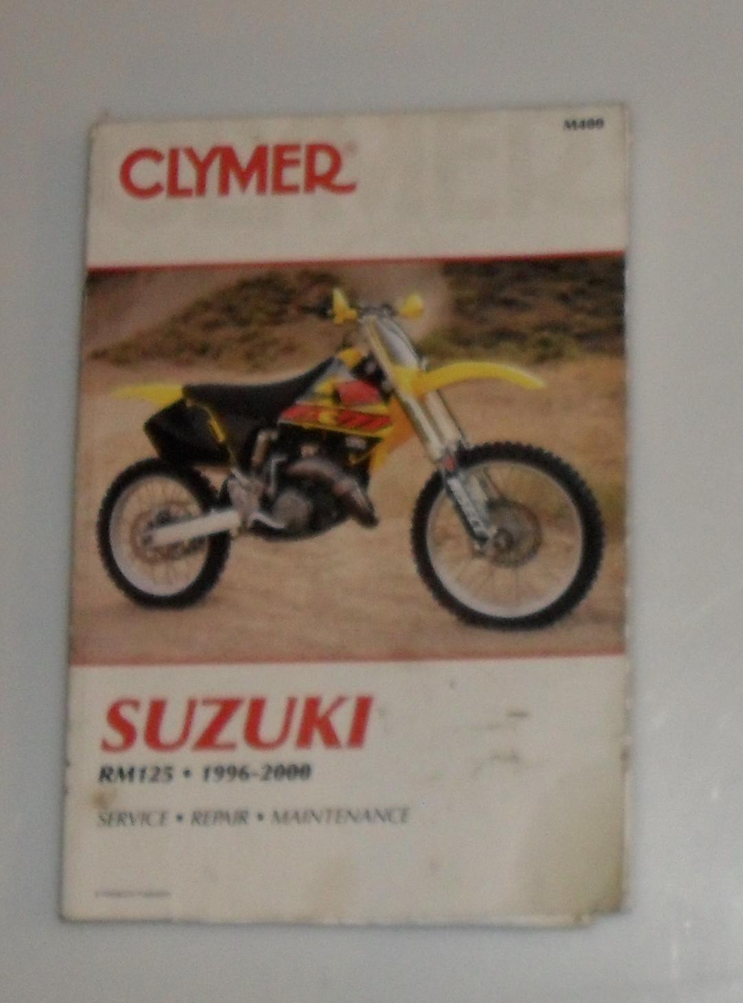 1996 suzuki rm125 service manual