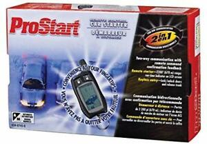 prostart 2 button remote starter manual