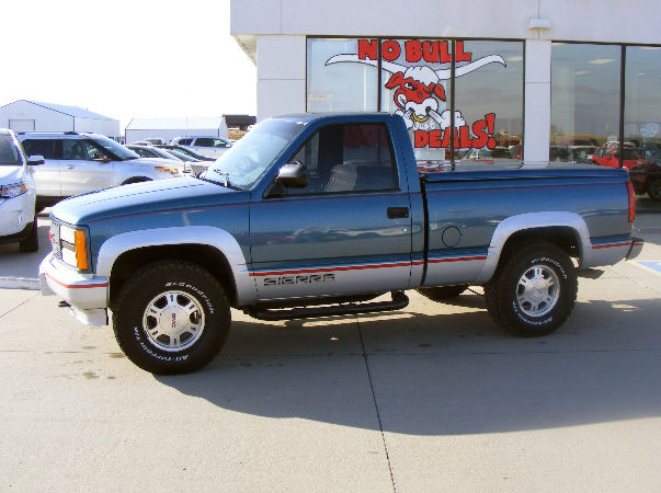 1996 gmc 1 2 ton 4x4 5speed manual