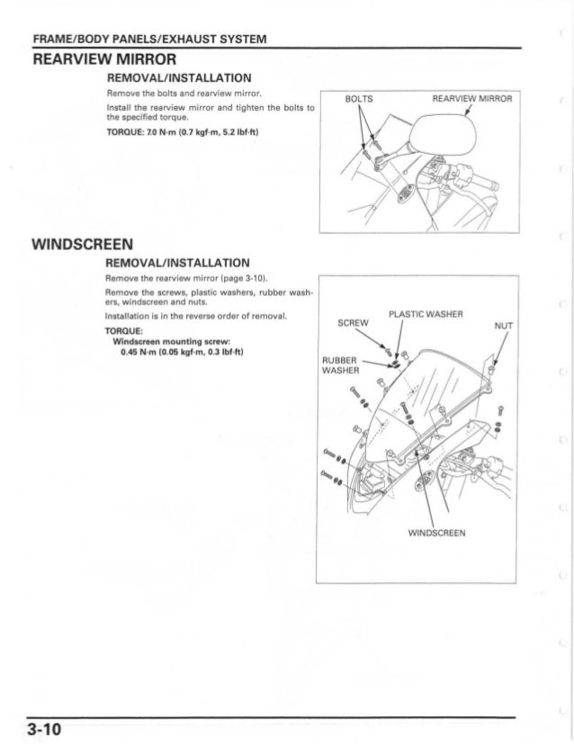 2007 honda cbr600rr owners manual