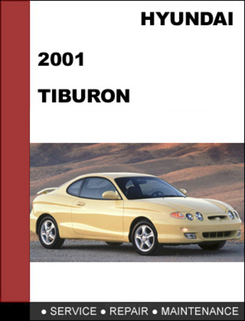 2001 hyundai tiburon service manual