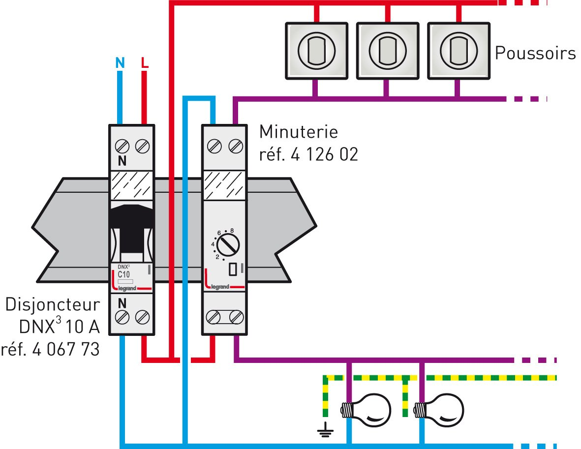legrand microrex qt31 user manual