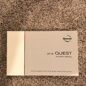2009 nissan quest owners manual