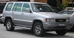 1999 isuzu trooper owners manual