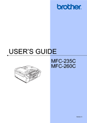brother mfc 260c service manual