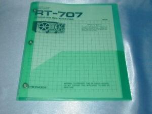 pioneer rt 707 owners manual