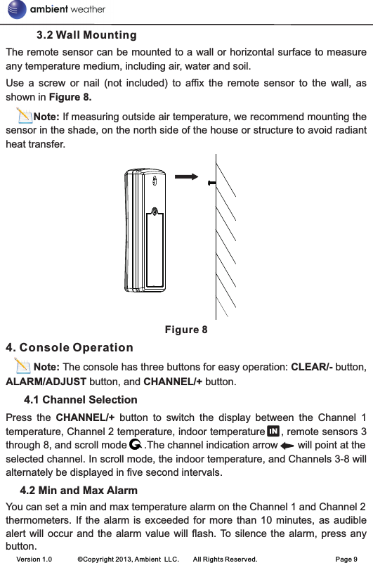 ambient weather ws 1171 user manual