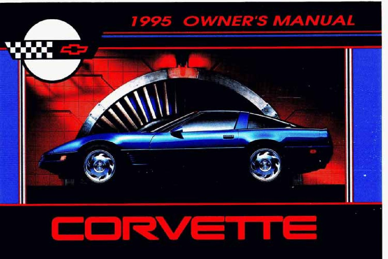 1995 chevy corvette owners manual