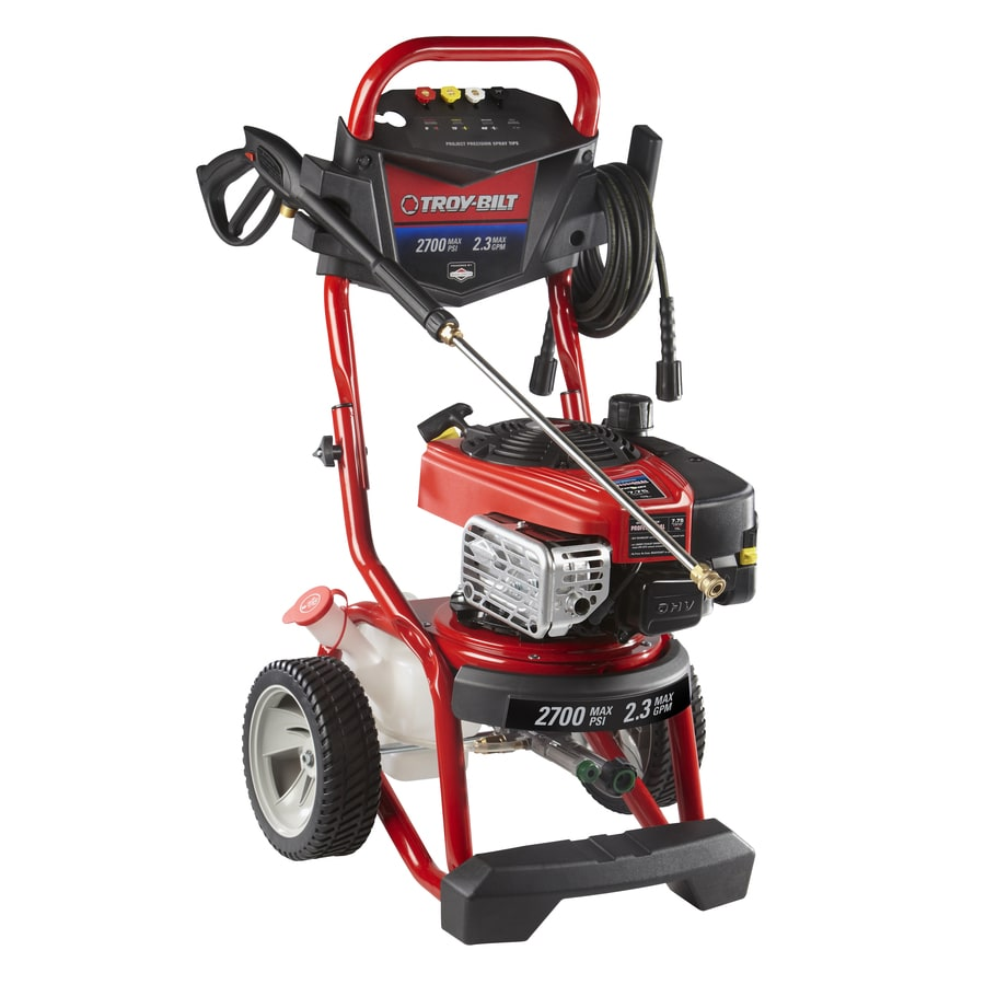 troy bilt pressure washer 2550 owners manual