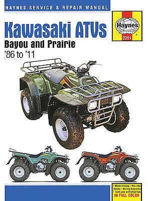 2000 kawasaki prairie 300 owners manual