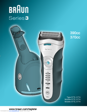 braun series 3 user manual