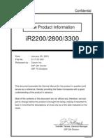 canon ir 2525 service manual