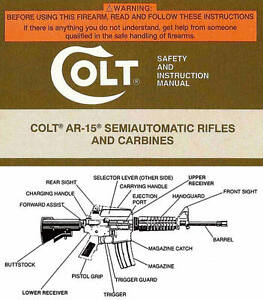 colt ar 15 user manual